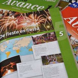 Spāņu valodas mācību grāmatas