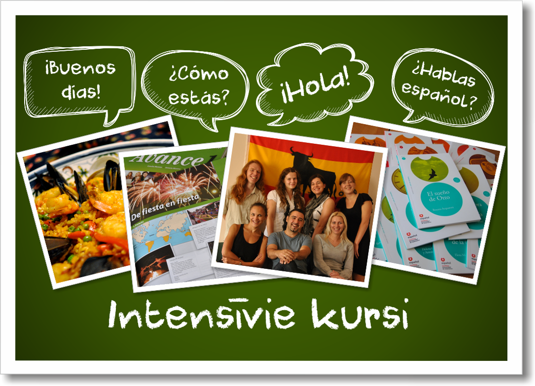 Spāņu valodas intensīvie kursi Rīgā